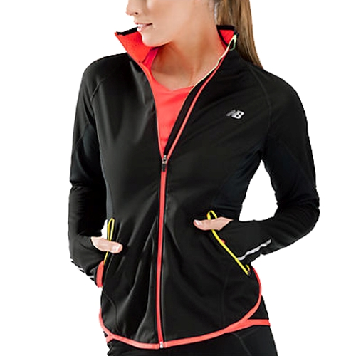 Nb Windblocker Jacket Women S Black New Balance Style Wrj3307 Bk F13