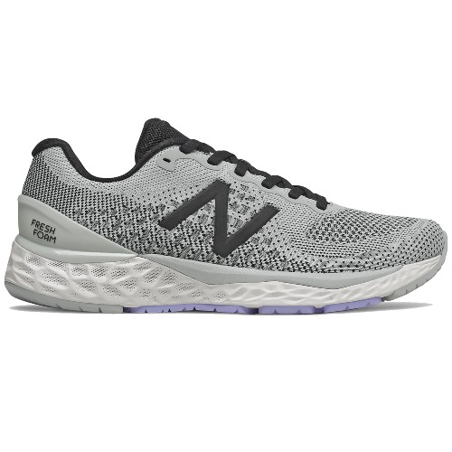 NB-W880D-v10 Women's Light Aluminum/Black