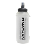 Nathan 18oz Soft Flask w/Bite Clear