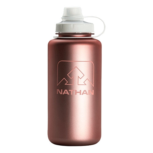 Nathan Big Shot 1L Unisex Desert Gold/White