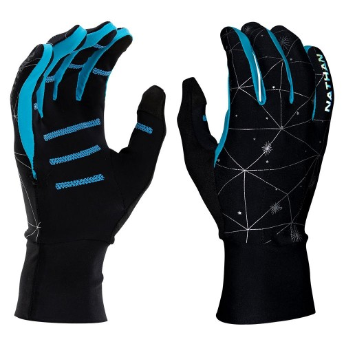 Nathan HyperNight Glove Women's Reflective/Galaxy Blue