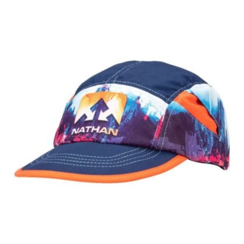 Nathan Quick Stash Run Hat Unisex Astral Aura Glitch