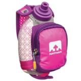 Nathan QuickShot Plus 10oz Unisex Floro Fushia Insulated