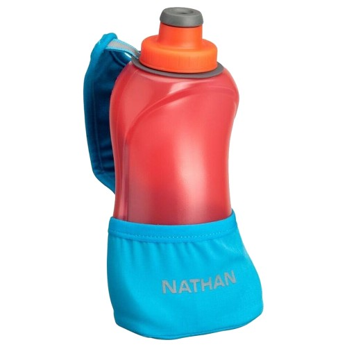 Nathan QuickSqueeze Lite 18oz Blue Me Away/Hibiscus