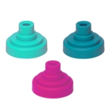 Nathan Race Caps 3-Pack Unisex Assorted 2
