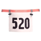 Nathan Race Number Belt 2.0 Fusion Coral