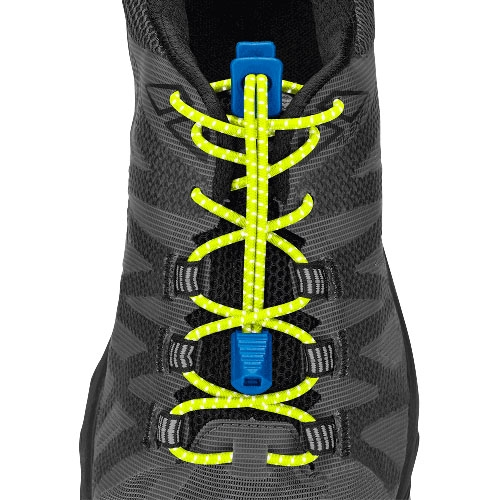 Nathan Reflective Run Laces Unisex Safety Yellow/Electric