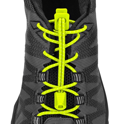 Nathan Run Laces Unisex Safety Yellow