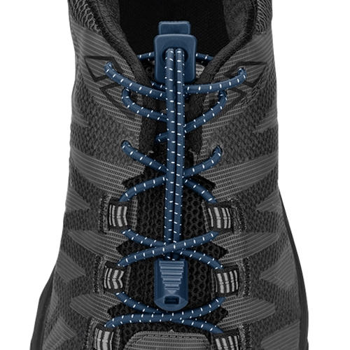 Nathan Run Laces Unisex Dark Denim - Nathan Style # NS1170-0260 F18