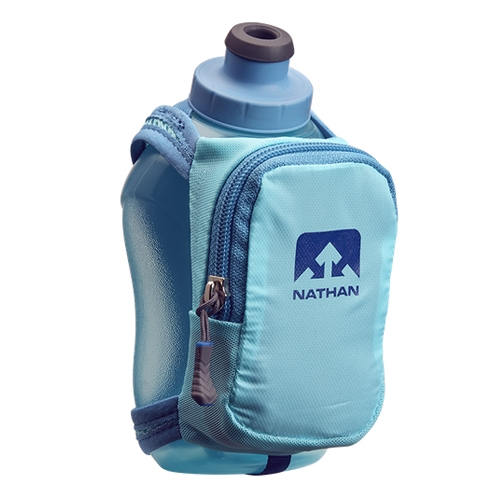 Nathan SpeedShot Plus - 12 oz Unisex Blue Radiance