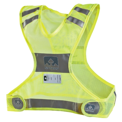 Nathan Streak Vest Unisex Safety Yellow