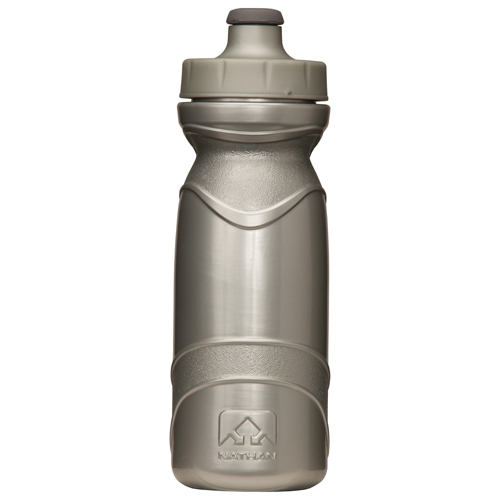 Nathan Tru-Flex Bottle 650ml Unisex Silver