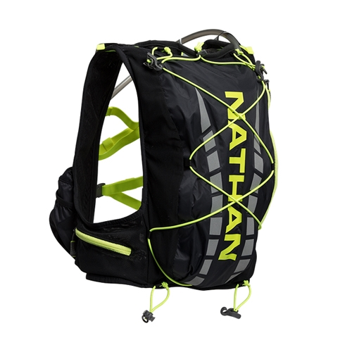 Nathan Vapor Air 7L Men's Black/Safety Yellow