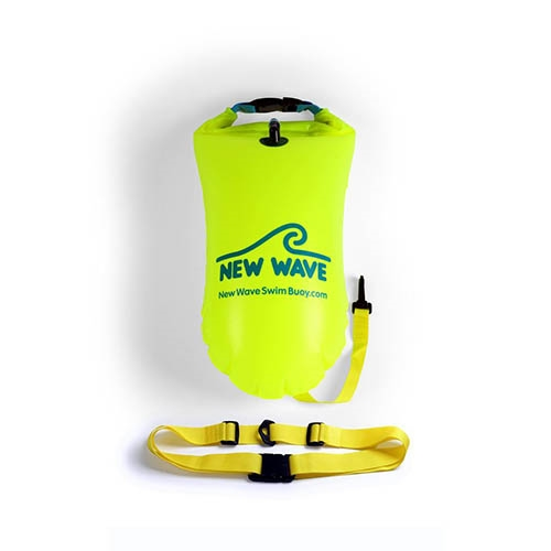 New Wave Swim Buoy 15L Neon Green