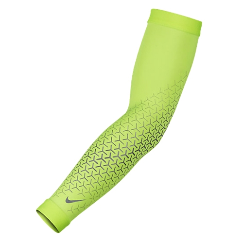 Nike Df 360 Arm Sleeves 2.0 Unisex Volt/Silver - Nike Style # N.RS.C4.715 F16