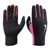 Nike Rally Run Gloves 2.0 Women's Black/Hyper Pink