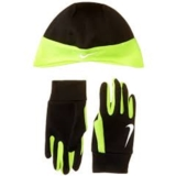 Nike Run Thermal Beanie/Glove Men's Black/Volt