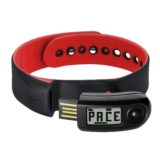 Nike + Sport Band Black/Challenge Red