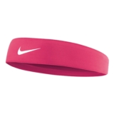 Nike Tapered Fury Headband Unisex Hyper Pink/White