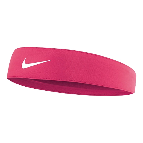 Nike Tapered Fury Headband Unisex Hyper Pink White - Running Free Canada 68afff4a752