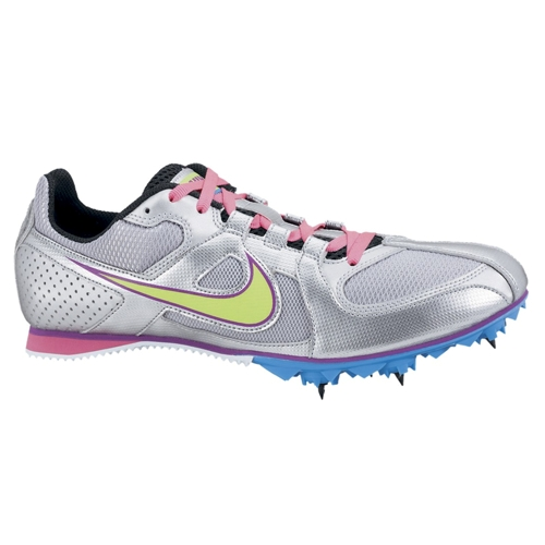 Nike Zoom Rival MD 6 Women's Silver/Electric Green