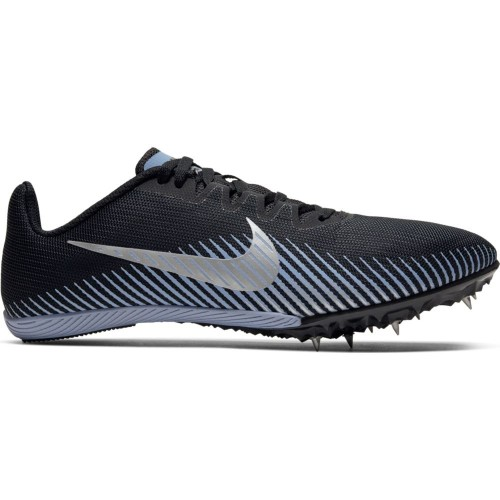 Nike Zoom Rival MD 9 Unisex Black/Silver/Indigo - Nike Style # AH1020-004 S20