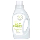 No Sweat Laundry Detergent Fragrance Free 2.95L