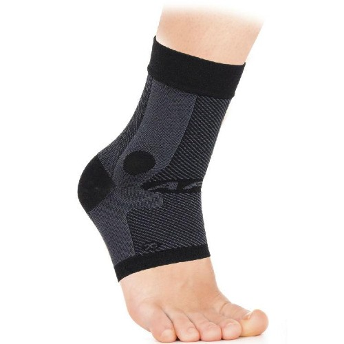 OS1st Ankle Brace Sleeve Left Unisex Black