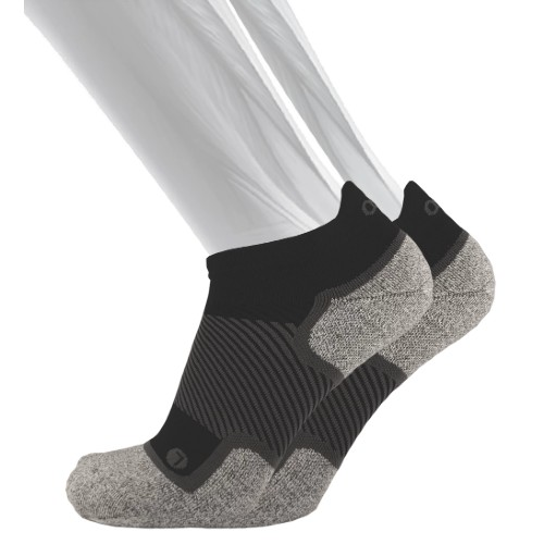 OS1st Wellness Socks No Show Unisex Black
