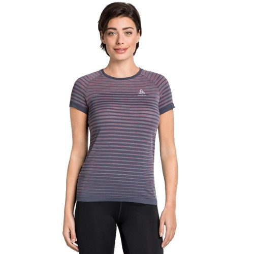Odlo Blackcomb Pro T-Shirt Women's Odyssey Gray/Space Dye