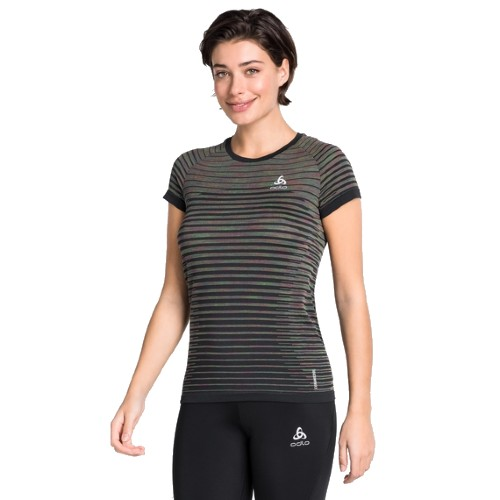 Odlo Blackcomb Pro T-Shirt Women's Black/Space Dye