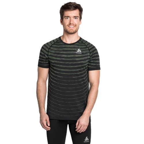 Odlo Blackcomb Pro T-Shirt Men's Black/Space Dye