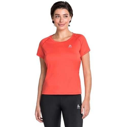 Odlo Ceramicool Element Tee Women's Hot Coral