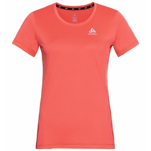 Odlo Element Running T-Shirt Women's Hot Coral