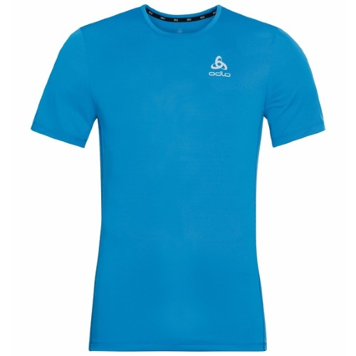 Odlo Element Running T-Shirt Men's Blue Aster