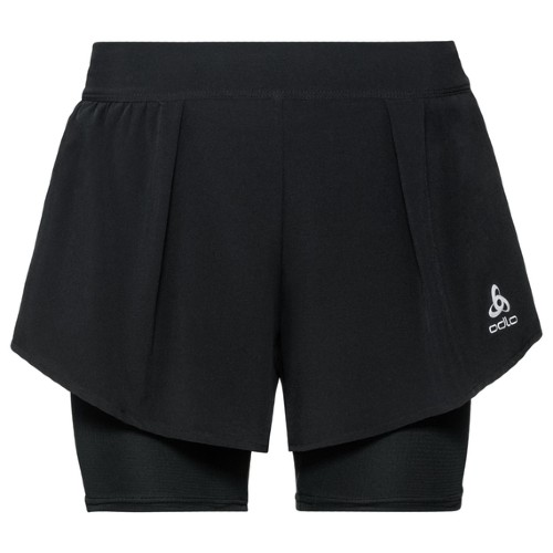 Odlo Zeroweight 2-IN-1 Shorts Women's Black
