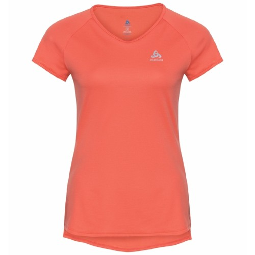Odlo Zeroweight T-Shirt Women's Hot Coral