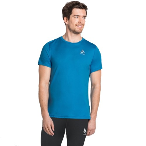 Odlo Zeroweight T-Shirt Men's Blue Aster