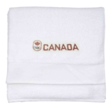 Olympic Canada Towel White