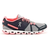 On Cloud Women's Grey/Neon Pink