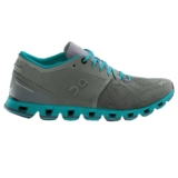 On Cloud X Women's Grey/Atlantis
