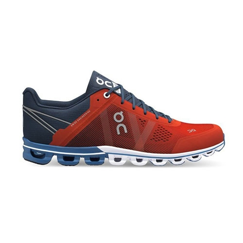 On Cloudflow Men's Rust/Pacific