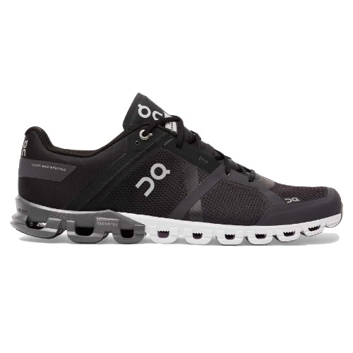 On Cloudflow Men's Black/Asphalt