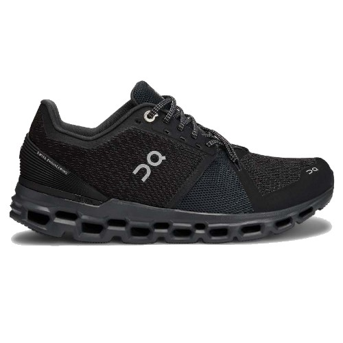 On Cloudstratus Women's Black/Shadow