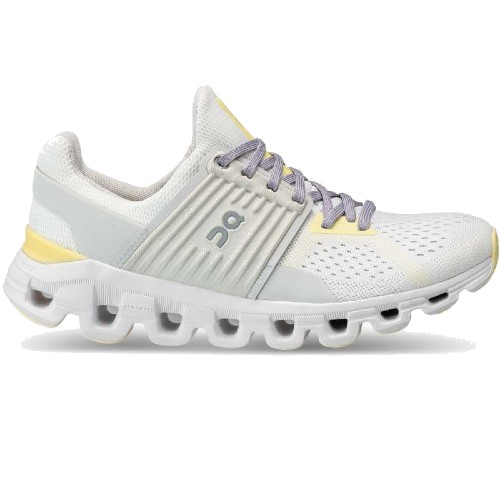 On Cloudswift 2.0 Women's White / Limelight