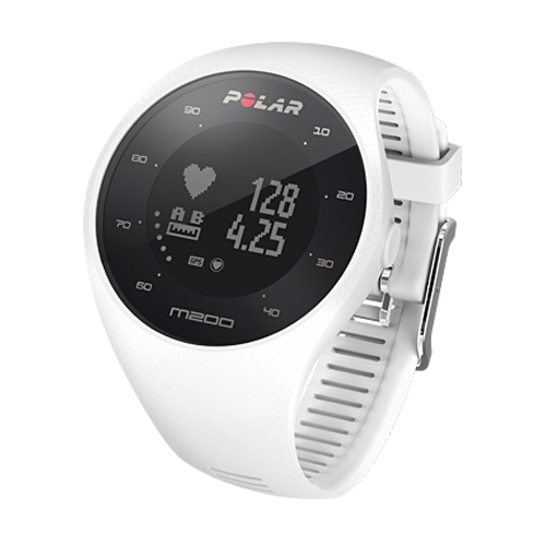 Polar M200 Optical HR & GPS White M/L - Polar Style # 90067740 F17