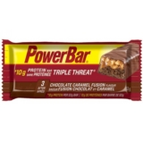 PowerBar Triple Threat Bar 53g Chocolate Caramel Fusion