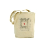 RF Believe It, Achieve It Bag Bamboo Canadian Made