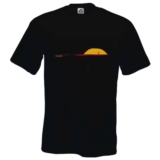 RF Novel Tees Sunset Men's Black