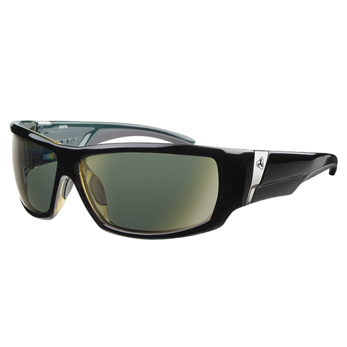 Ryders Bison Black Green/Green Lens - Ryders Style # R804-001 C14